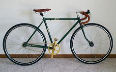 step by step bicycle refurbishing process.
