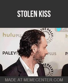 You go Norm, you troll you! - Norman Reedus and Andrew Lincoln, Bromance [gif]