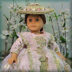 "MHD Designs ""Versailles"" OOAK for American Girl Dolls Elizabeth and Others   eBay. Ends 4/27/14. Start bid was $1,750.00."