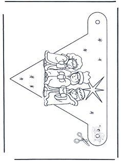 Banderita - Navidad 1 - Manualidades de Navidad