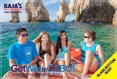 Enjoy The Arch´s Tour in Los Cabos! Disfruta el Paseo a El Arco en Los Cabos!   #Bajaswatersports #Glassbottomboat www.bajaswatersports.com