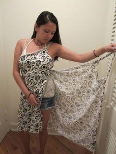 Couture : Tuto Robe paréo