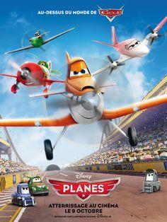 Au-dessus du monde de Cars, découvrez #Planes ! Atterrissage le 9 octobre au cinéma !