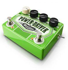 retro guitar pedal