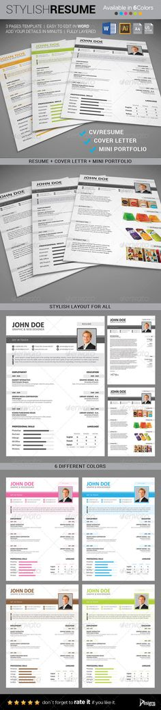 Round Resume Template Template, Creative resume templates and - different resume templates