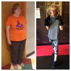 """It's TRANSFORMATIONAL TUESDAY and 9Round Catskill's member, Alison Rivenburgh has made one amazing transformation!!  Alison remembers a time where she couldn't climb the stairs without losing her breath. She began her weight loss journey on her own, but it was after she joined 9Round that she truly changed her life.   Alison has been a member for 6 months and since joining 9Round has lost 50 pounds, gone from a pants size 18 to a 6/8, an Xl shirt to a medium and says """"I feel"""