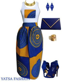 4 Factors to Consider when Shopping for African Fashion – Designer Fashion Tips African Fashion Designers, African Print Fashion, Ethnic Fashion, Blue Fashion, Nyc Fashion, African Prints, Fashion Ideas, African Attire, African Dress