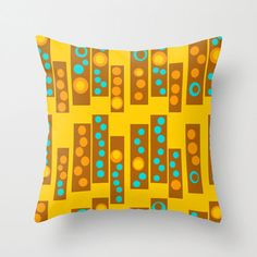 Yellow Outdoor Pillow,Modern Outdoor Pillow,Outdoor Cushion,Cool Outdoor Pillow, Outdoor Pillow