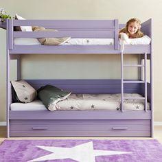 habitaciones-infantiles-litera-con-cama-nido-asoral