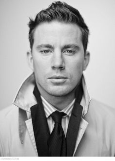 channing tatum / Men's Fashion & Style Black & White Photography