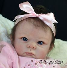 "PEACHES AND CREAM ~ Retired ""Bethany"" Linda Murray Now Reborn Baby Girl Becky"