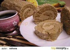 Kávová roláda S Baileys recept - TopRecepty. Swiss Cake, Cake Roll Recipes, Rolls Recipe, Baileys, Graham Crackers, Nutella, Baked Goods, Sweet Recipes, Muffin