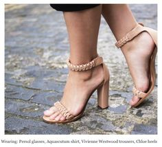 Chloe shoes Girl a la mode