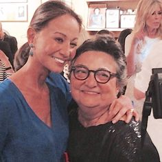 Isabel Preysler, con la cumpleañera.