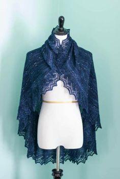 DIY: In the Stars. Beautiful constellation shawl.