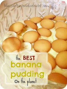 The Best Banana Pudding On The Planet