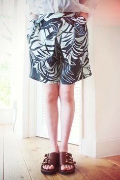 [ THE DAY ON THE BEACH ] CULOTTE SHORTS www.lancah.com