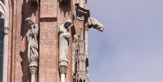 La Plata cathedral gargoyle