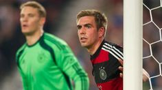 Manuel Neuer and Philipp Lahm - WC 2014. Two legends in one picture