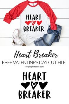 This heart breaker valentine cut file is perfect for so many different projects. Place it on a shirt, on a mug or in a frame. It makes a great gift for your gal pals. Happy Valentine Day HAPPY VALENTINE DAY | IN.PINTEREST.COM WALLPAPER #EDUCRATSWEB