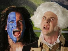 George Washington vs William Wallace. Epic Rap Battles of History Season 3! #erb #lol