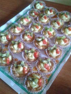 Cestini di frutta con crema - Ricette Bimby