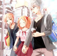 pixiv(ピクシブ)は、作品の投稿・閲覧が楽しめる「イラストコミュニケーションサービス」です。幅広いジャンルの作品が投稿され、ユーザー発の企画やメーカー公認のコンテストが開催されています。 Anime Love, Anime Guys, Manga, Cool Anime Pictures, Familia Anime, Avatar Couple, Flower Boys, Ensemble Stars, Cute Love