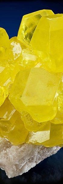 yellow #minerals #rocks #crystal