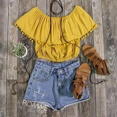 ROMWE Summer Outfit