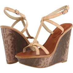 Love this wedge sandal by Elizabeth and James