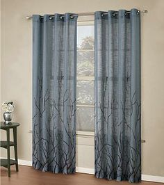 Alton Print Grommet Window Curtain Panel http://www.bedbathandbeyond.com/store/product/Alton-Print-Grommet-Window-Curtain-Panel/3190991?categoryId=12198&color=BLUE
