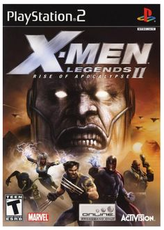 X-Men Legends II: Rise of Apocalypse PlayStation 2 Game disc NTSC U/C Listing in the Games,Video Games,Video & Computer Gaming Category on eBid Canada Gamecube Games, Playstation Games, Nintendo 3ds, Apocalypse Games, Video Game Collection, Video Game Reviews, Video Games Xbox, Man Games, Games Box