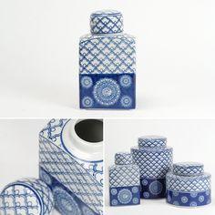 Pote Azulejo Círculos Cerâmica 13 x 9 x 23 cm | A Loja do Gato Preto | #alojadogatopreto | #shoponline | referência 33566784