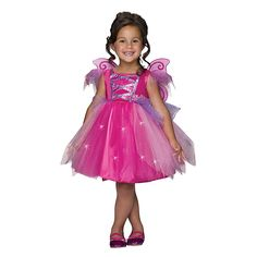 Any fan of the iconic doll will love the Girls' Barbie Fairy Costume. This enchanting Storybook Barbie costume boasts a dazzling tutu dress with matching butterfly wings. Fun to accessorize and perfect for Halloween or everyday dress-up fun! Fairy Costume Kids, Fairy Halloween Costumes, Up Costumes, Toddler Costumes, Halloween Ideas, Little Girl Costumes, Toddler Halloween, Pirate Costumes, Spooky Halloween