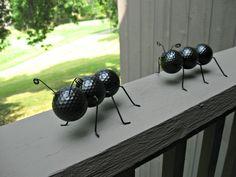 Ping pong ball ant  Golf balls too