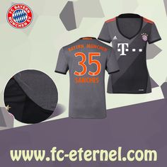 fc-eternel:Maillot Bayern Munich Femme (SANCHES 35) Exterieur 2016/2017 Thai Edition Maillot Bayern Munich, Lewandowski, Football, Sports, Flocking, Baby Born, Woman, Soccer, Hs Sports