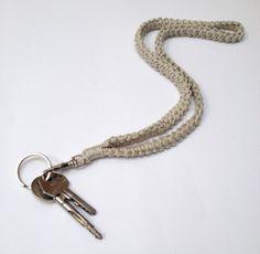 Gratis haakpatroon keykord / Free crochet pattern keykord