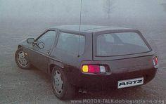 Porsche 928 Shooting Brake, build by Autohaus Nordstadt Günther Artz
