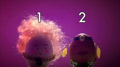 2 αυγά σε διασκέδαση! Compter avec les oeufs : 2 oeufs