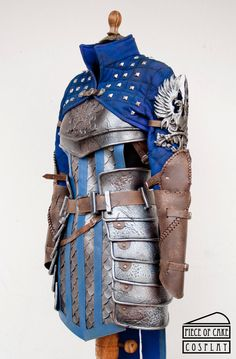 Grey Warden Armor from Dragon Age, December 2015. Foam, fabric, fake leather and resin. Visit us on:www.facebook.com/pieceofcakeco…