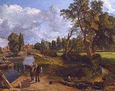 Le Moulin de Flatford, 1817, John Constable, Londres, Tate Gallery
