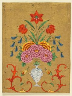India, Lucknow, Mughal, second half of 18th century, opaque watercolor with gold on paper, Painting: 17.50 x 13.30 cm (6 7/8 x 5 3/16 inches). Gift in honor of Madeline Neves Clapp; Gift of Mrs. Henry White Cannon by exchange; Bequest of Louise T. Cooper; Leonard C. Hanna Jr. Fund; From the Catherine and Ralph Benkaim Collection 2013.354
