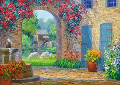 MIKKI SENKARIK, artist | Floral Beauty ~ Real & Imagined ...