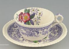 """""""Mayflower"""" Teacup by Spode. I found one in a second hand shop for $10. Price for a few more on Replacements: $65 each."""