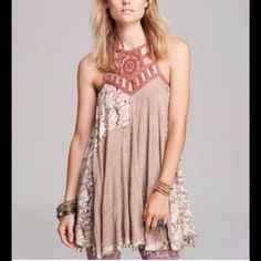 New Price! Free People Eyelet Meadow Dress/Tunic