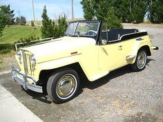 Willys : Overland Jeepster 1949