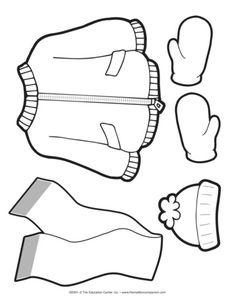 Winter Clothes Lesson Plans The Mailbox Clip Art Winter Outfits Lesson Plans