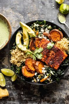 Sheet Pan Chipotle Salmon with Cilantro Lime Special Sauce. Sheet Pan Chipotle Salmon with Cilantro Salmon Recipes, Seafood Recipes, Eggplant Recipes, Noodle Recipes, Fish Recipes, Chicken Recipes, Broccoli Recipes, Tofu Recipes, Turkey Recipes