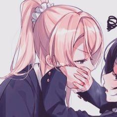 oioi pessoal. estarei liberando aq metadinhas de anime. não são de mi… #ficçãoadolescente # Ficção adolescente # amreading # books # wattpad Anime Girlxgirl, Yuri Anime, Cute Anime Profile Pictures, Matching Profile Pictures, Cute Anime Pics, Couples Anime, Anime Couples Drawings, Friend Anime, Anime Best Friends
