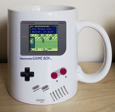 Nintendo, Game Boy, Legend of Zelda, Pokemon, Tetris, Gameboy Coffee Mug, Video game mug